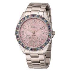 MONTRE - 20331 -  - FEMME Swarovski, Michael Kors Watch, Chronograph, Watches, Accessories, Fashion, Bronze, Bangle, Women