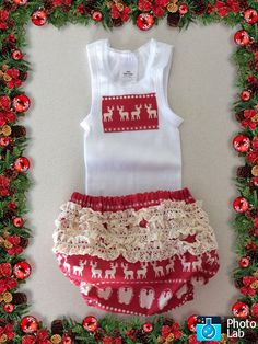 Christmas Naturally Diaper Cover Set Size Newborn to 3 months by Ozbods on Etsy