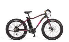 Ecoride Misfit Fatbike 14.5Ah 48cm Musta/Lila | Larunpyörä | Polkupyörät - Hybridit, Cyclocrossit, Maastopyörät