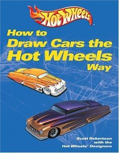 """How to Draw Cars the Hot Wheels Way Scott Robertson """"Did every contemporary car designer have to study this book? Toddler Gifts, Kids Gifts, Any Book, This Book, Scott Robertson, Basic Drawing, Car Drawings, Retro Cars, Automotive Design"""