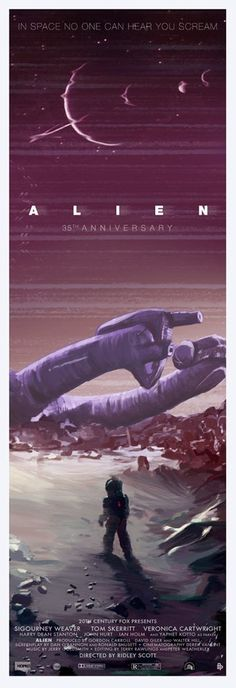 """Alien 35th Anniversary"" Tall by Scott Hopko - Hero Complex Gallery"