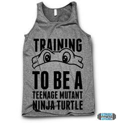Training To Be A Teenage Mutant Ninja Turtle