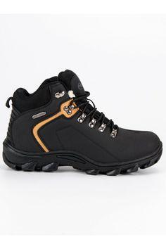 Čierne topánky na zimu pre pánov MCKEYLOR Hiking Boots, Shoes, Fashion, Moda, Zapatos, Shoes Outlet, Fashion Styles, Shoe, Footwear