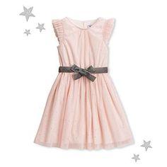 Spangled tulle dress | Petit Bateau®