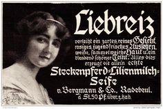 Original-Werbung/ Anzeige 1910 - STECKENPFERD LILIENMILCH-SEIFE  - ca. 130 x 80…
