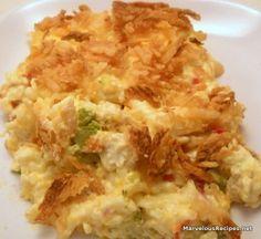 Chicken Rice Broccoli Casserole
