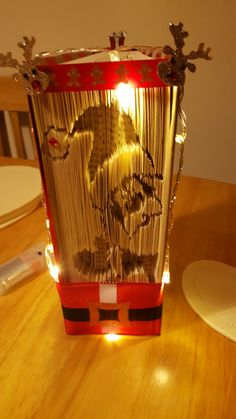 Book Art, Table Lamp, Lighting, Home Decor, Table Lamps, Decoration Home, Room Decor, Lights, Home Interior Design