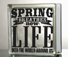 Spring breathes new life into the world Art by VinylDecorBoutique