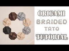 Braided Tatou / Envelope Tutorial – Origami Tutorials