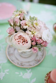 Peach & Mint Green English Garden Wedding Inspiration | Washington DC Weddings, Maryand Weddings, Virginia Weddings :: United With Love™ :: Fresh Inspiration, Ideas and Vendors
