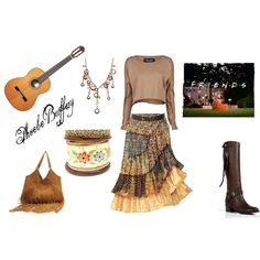 Phoebe Buffay my fav friend., created by thebigtree on Polyvore