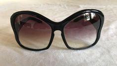 ~ AUTHENTIC PRADA BLACK BUTTERFLY SPR 181 SUNGLASSES (TRES GLAM!) ~  #PRADA #Designer