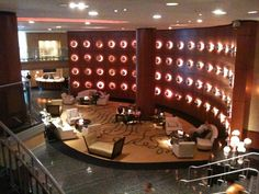 Lapidus Lounge - Ritz Carlton South Beach.  An ode to the architect Morris Lapidus, who designed the DiLido Hotel (and many others in Miami Beach), which became the Ritz Carlton.