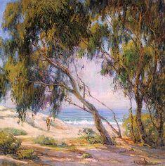 """""""Beside the Sea, Laguna Beach"""": Anna Hills"""