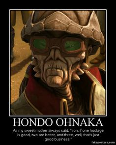 Star Wars Fan art | Star Wars The Clone Wars Hondo Ohnaka by ~Onikage108 on deviantART