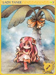 Lady Tanee Card