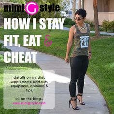 Now this is a kind of fit I wouldn't mind being - curvy and healthy. Want to try her lettuce wraps some time.