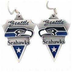 Seahawk earrings