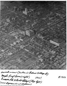 If the most fascinating thing about historical photos of Toronto is that they allow the viewer to track just how much the city has changed, then ae. Toronto Pictures, Old Pictures, History Photos, History Facts, York Hotels, Downtown Toronto, Local History, Landscape Photos, Ontario