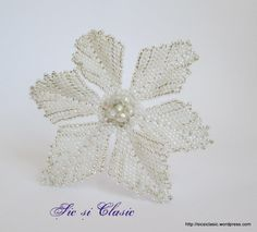 Seed Bead Flowers, Beaded Flowers, Seed Beads, Haute Couture Designers, Chignon Hair, Bridal Hair Pins, Bridal Fashion, Gorgeous Hair, Bridal Style