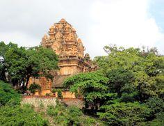 """""""Thap Ba Po Nagar"""", meaning """"Tower of the Lady Po Nagar"""" Nha Trang, Vietnam"""