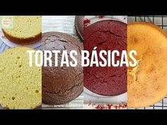 4 RECETAS de TORTAS para cubrir con FONDANT  Natalia Salazar - YouTube Cornbread, Vanilla Cake, Cake Recipes, Bakery, Muffin, Cooking Recipes, Chocolate, Yummy Food, Sweets