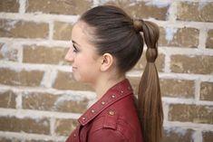 Heart Ponytail | Valentine's Day Hairstyles | Cute Girls Hairstyles