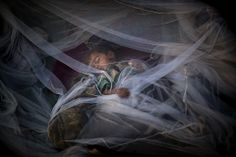 A boy, displaced from Pakistan's Swat Valley, slept under a mosquito net at the Jalozai refugee camp near Peshawar, Pakistan, Tuesday. The U.N. High Commissioner for Refugees said nearly 2.4 million people have been uprooted by the violence, with about 126,000 people being forced from their homes daily. (Emilio Morenatti/Associated Press)