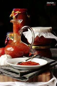 Around the kitchen table Domowy aromatyczny ketchup