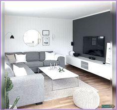 Modern Living Room Furniture Design for Your Dream House Living Room Decor 2018, Living Room Paint, Living Room Grey, Home Living Room, Apartment Living, Cozy Apartment, Grey Room, Modern Contemporary Living Room, Living Room Modern
