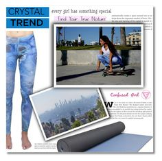 """Crystal leggings by Confused Girl"" by dolly-valkyrie ❤ liked on Polyvore"