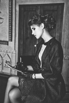 "Model: Gosia Ustupska | Photographer: Weronika Kosinska - ""Oblivion for Miasto Kobiet Magazine Issue 2, 2012"