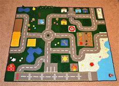 Happy Berry Crochet: Crochet Road Play Mat CAL