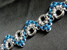 Handmade ZigZag Chain Maille Bracelet by FreyaChainWorx on Etsy, $40.00