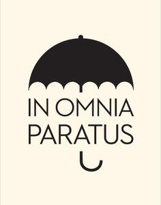 In Omnia Paratus / A Vintage Poster