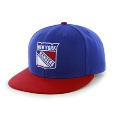 premium selection 4c0c0 572ee NHL New York Rangers Two-Tone Backscratcher Snapback Cap by  47 Brand.   13.23