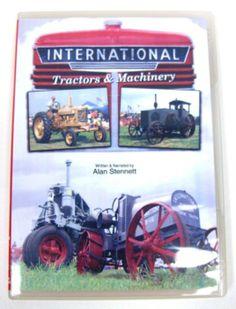 International Tractors & Machinery 58 minutes DVD