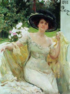 Portrait of Bella Gorskaya Painting Ilya Repin, Russian Painting, Russian Art, Oil Painting Reproductions, Illustrations, Art Database, Art World, Female Art, Female Portrait