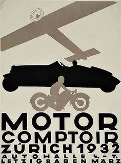 MOTOR COUNTER  (1932) by Susanlenox, via Flickr