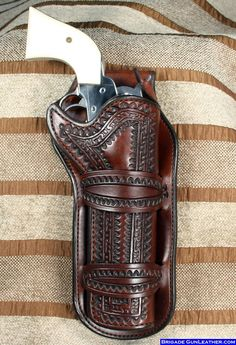 Beautiful holster and single action revolver