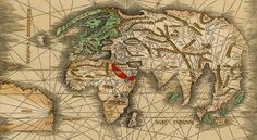 Map of the world with the New World labeled America, 1513