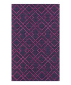 Look what I found on #zulily! Violet & Purple Brentwood Rug by Surya #zulilyfinds