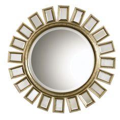 Uttermost .Cyrus Sunburst Wall Mirror