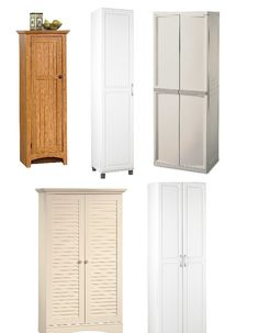 Bon Affordable Free Standing Broom Closet Styles For Your Kitchen Or Garage.
