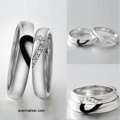 Promise rings. In love. For him and for her