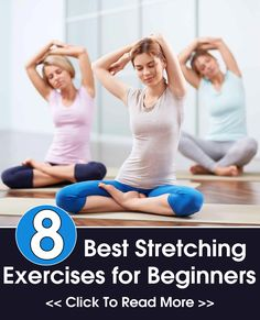 Stretching Yoga Exercises for Beginners to help with pain of Lyme disease