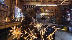 2015 - Annie Morin, de feu et de métal | Capsules | La Fabrique culturelle