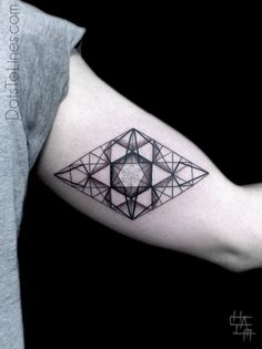 Geometric Ornament by Dots To Lines Tattoos