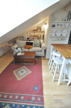 Clever designs features for maximize attic apartment (1)