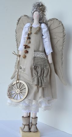 Boho style angel  #handmade  #thecraftstar  $150.00
